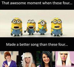 Haha love minions