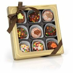 Autumn Leaves Belgian Truffle Chocolate
