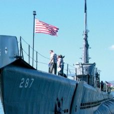 DAY TWO: USS Bowfin Submarine- This legendary vessel is one of only 15 surviving U.S. combat submarines from World War II. Learn the story of the USS Bowfin, including its many successful attacks on enemy warships, and of submarines in general. A must-see for students of WWII history.