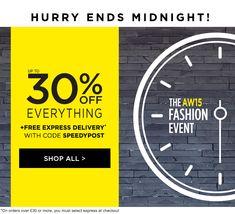 #newsletter #30%off #fashion #sale #gif #web #weblayout