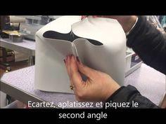 Comment coudre une panière en tissu. Comment aplatir des angles. Plus de tutos sur www.e-mercerie.over-blog.com.