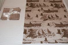 Fair Isle Print Napkins/Placemats and Aff At Da Eela Table Runner