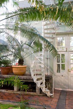 Jen! Note: v.narrow winding stairs is ok!  Kaisaniemi Botanic Garden in Helsinki