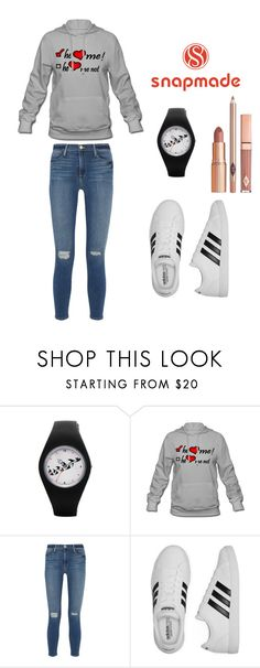 """""""3#snapmade"""" by comicdina ❤ liked on Polyvore featuring Frame Denim, adidas and Dolce Vita"""