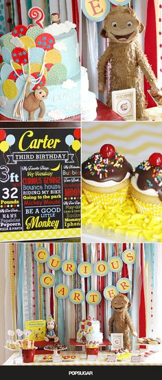 You'll Go Bananas Over This Adorable Curious George Birthday Party