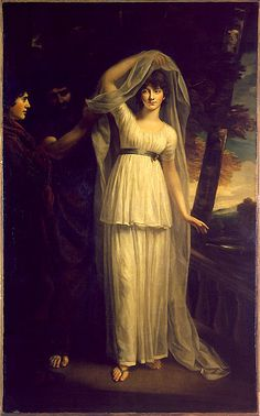 """Portrait of a Lady in the Character of Cressida,"""" by John Opie"""