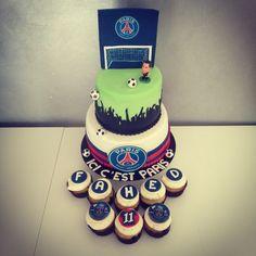 PSG cake / gâteau PSG / Paris saint germain