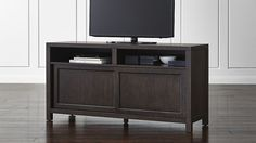 Media console crate and barrel client cabinet seguro 68 . crate and barrel media console Entertainment Center Makeover, Entertainment Center Kitchen, Entertainment Room, Tv Built In, Farmhouse Tv Stand, Console Cabinet, Diy Tv, Media Center, Crate And Barrel
