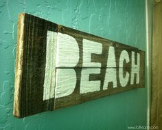 Rustic Beach Bathroom Sign lollyjane (2)