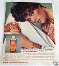 1978 vintage ad - Bonne Bell Ten-O-Six skin girl PAPER print 1-PG AD