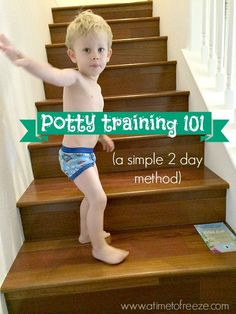 If you had asked me a few months ago how Ifelt aboutpotty-training my second son, I would have told you that I was dreading it.  First