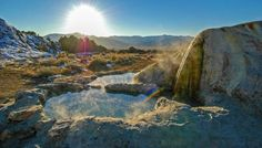 Eastern Sierra Hot Springs - Benton & Travertine - Mono County, CA California Destinations, California Travel, Oh The Places You'll Go, Places To Visit, Natural Mineral Water, Mammoth Lakes, Nevada City, Off Road Adventure, Sierra Nevada