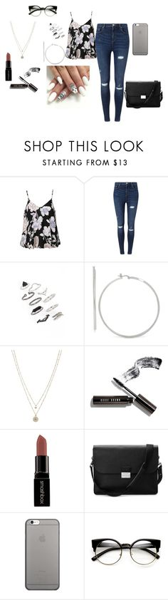 """""""it's april"""" by nalawashington ❤ liked on Polyvore featuring Ally Fashion, Miss Selfridge, Topshop, Touch of Silver, LC Lauren Conrad, Bobbi Brown Cosmetics, Smashbox, Aspinal of London, Native Union and ZeroUV"""