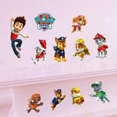 Paw Patrol Wall Sticker  sc 1 st  Pinterest & Bubble Guppies Peel and Stick Wall Decals - Wallu2026 | Nickelodean Wall ...