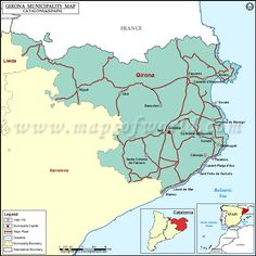 Spain Road Map Maps Charts Graphs Pinterest Spain Spain