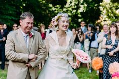 Colorful Handmade Backyard Surrey Wedding