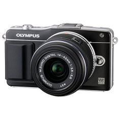 """Buy Olympus PEN E-PM2 Compact System Camera with 14-42mm Lens, HD 1080i, 16MP, Wi-Fi, 3"""" LCD Screen Online at johnlewis.com"""