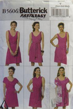 Butterick 5606 Misses' Dress