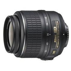 Nikon 18-55mm f/3.5-5.6G AF-S DX VR Nikkor Zoom Lens. Came with camera, I cant complain.