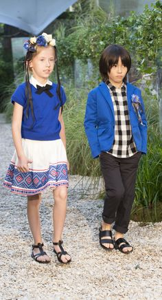 Bonpoint Summer 2015 Fashion Show #Bonpoint #FashionShow #kidsfashion