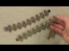 [ Beadwork ] Incastonatura con le rulla - Pietra da 30 mm - Bezeling with rulla - YouTube