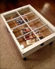 How to make a recycled table. Diy Coffee Table From An Old Window - Step 6