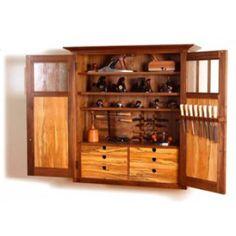 Shaker Tool Cabinet (Digital Plan)