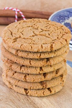This recipe for Ginger Cookies is perfectly spiced, crispy on the outside, chewy…