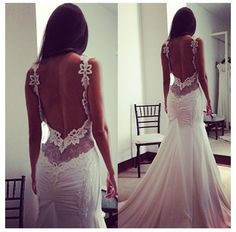 My biggest dream is to have my scoliosis surgery and wear a low back dress like this on my wedding day and show off my scar. The biggest symbol I could possibly have for the battle, all the pain, and the strength I've had going through this.