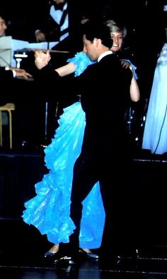 Diana and Charles……DIANA SEEMS TO BE ENJOYING THE DANCE -- DON'T GO TO SLEEP THERE, CHARLES OLE BOY (!!)…….ccp