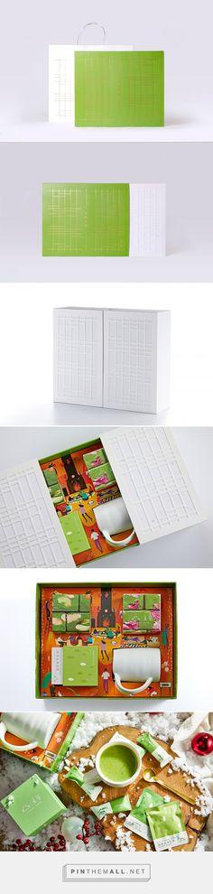 关茶幸福本味礼盒 on Behance - created via https://pinthemall.net