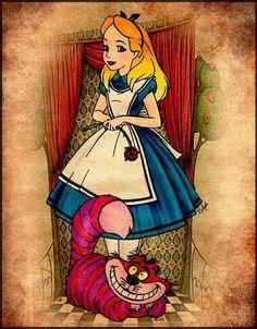 Disney...Alice in Wonderland I think I'm having a great tattoo idea!