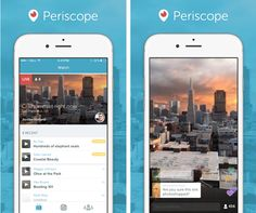#Periscope #LiveStreamingVideo Can't wait for the release of the Android version for Periscope and Meerkat.
