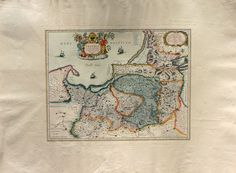 Ancient Maps  Prussia/Germany   Cm. 79 x 59 di OldDecorPrints