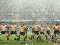 Let's Ogle New Zealand's All Blacks Rugby Team Doing The Shirtless Haka Post-Tournament Win
