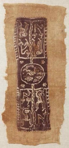 J.H.Terry Gallery - Fine Art and Furnishings - Home :: Textiles :: Coptic Fragment 2