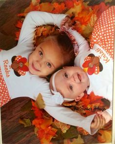 Matching Baby Girl Toddler Turkey Thanksgiving by TheSisterHugs