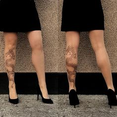 Did you know that thanks to the unmarked heel part our frontal Tattoo Tights, Wolford Tights, Stop Staring, Patterned Tights, Hosiery, Tattoo Designs, Stockings, Legs, Tattoos