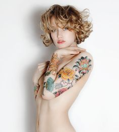 45 Astonishing Examples of Sleeve Tattoo Ideas