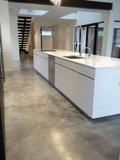 The pros and cons of concrete flooring the floor for Indoor cement flooring