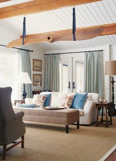 Bright & Lofty Country Living Room | photo Donna Griffith | design Stacy Begg | House & Home