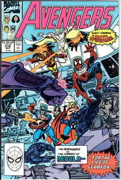 The Avengers #316