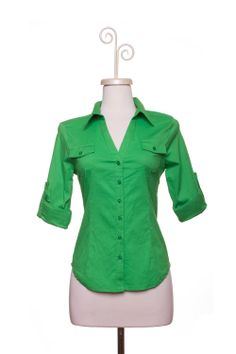 Dressing Your Truth - Type 1 Gleeful Green Top