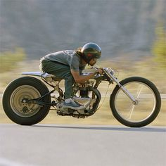 """Shinya Kimura on his 1957 Triumph 650 custom – """"The Needle"""" - I understand the intent, but can you really ride this thing around?!"""