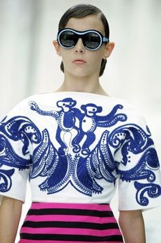 Prada's Monkey Motif: Creatures of Couture: 12 Famous Fashion Animals : Lucky Magazine