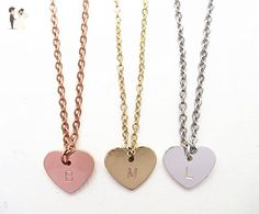 Delicate Best Friends gift Big middle little Sister heart pendant Necklace Set - Wedding nacklaces (*Amazon Partner-Link)