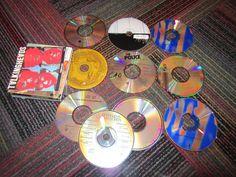 LOT OF 10 80'S, 90'S ROCK MUSIC CD'S, POLICE, CAT STEVENS,TALKING HEADS,PAUL SIM