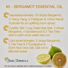 Bergamot Essential Oil - #baseformula #aromatherapy #essentialoils #naturalhealth #nature