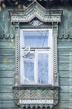 Владимир. Оконный наличник №31