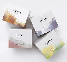 NEOM Organics Scented Candles.